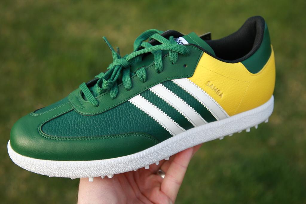 Limited Edition Samba Golf Shoe for the Masters – GolfWRX