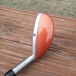 1999 TaylorMade Firesole Hybrid with its paint