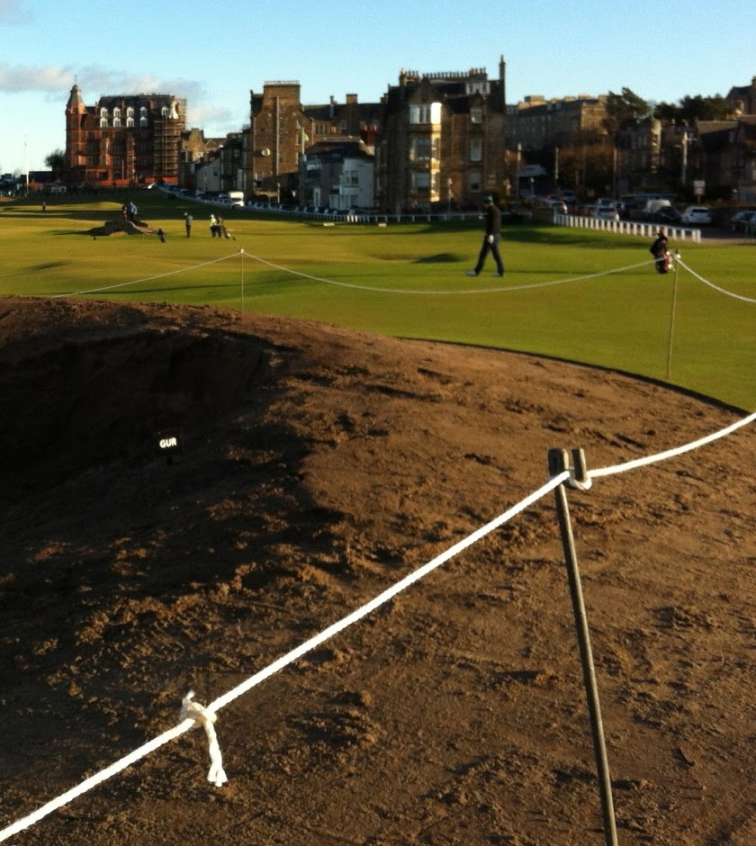 St. Andrews: Road Hole Bunker
