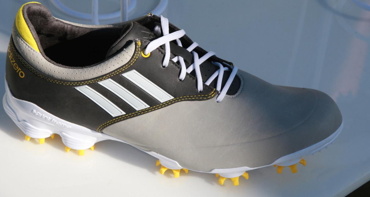 10a – addidas Golf's adizero golf shoes
