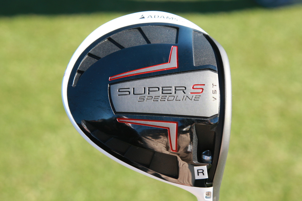 13a – Adams Golf's Super S Speedline driver with VST