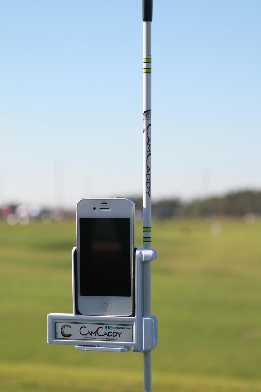 Golf camera holder