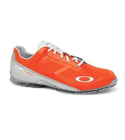 orange oakley golf shoes