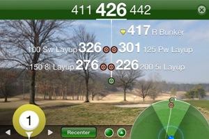 Golfshot AR Screen