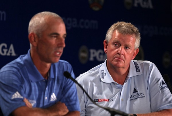 The captains of the 2010 Ryder Cup
