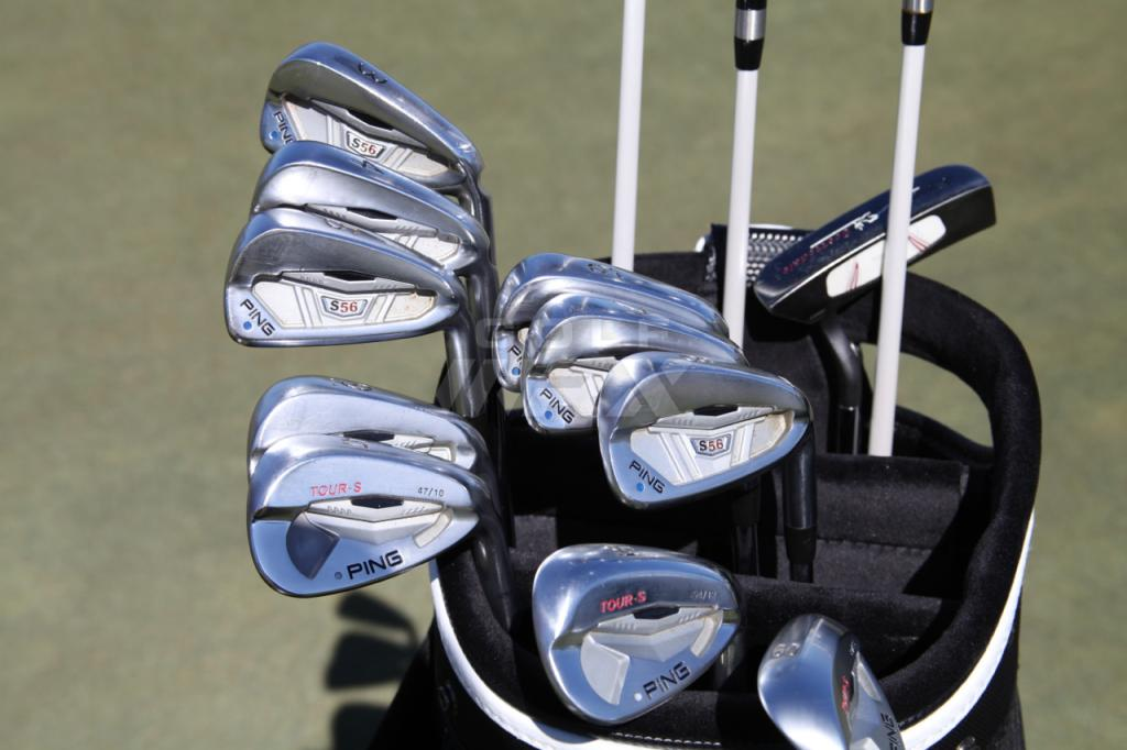 Louis Oosthuizen clubs