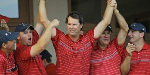 Azinger at the 2008 Ryder Cup
