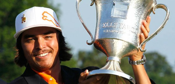 Rickie Fowler won the Wells Fargo Championship in May 2012.