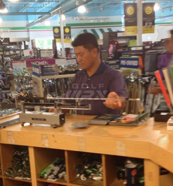 KJ Choi buys clubs