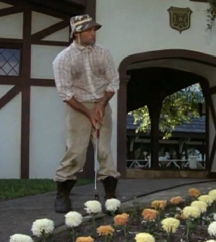 Carl Spackler Caddyshack Golf Swing