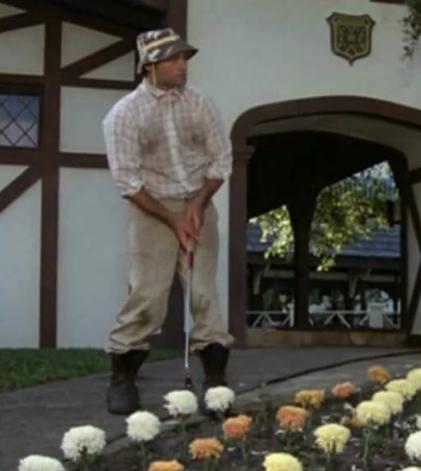Carl Spackler Caddyshack Golf Swing