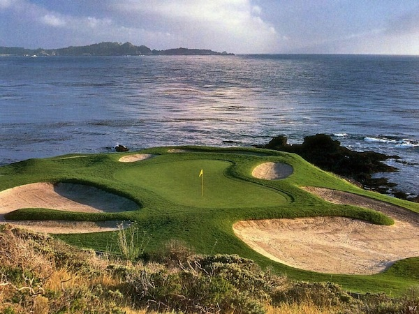 No. 7 at Pebble Beach Golf Links.