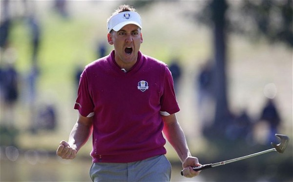 Poulter with Odyssey 7