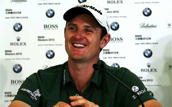 Justin Rose coolest names