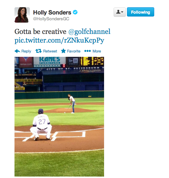 Holly_Sonders_first_pitch_