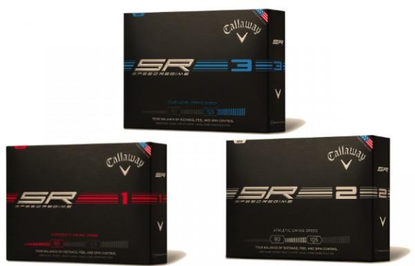 Callaway Speed Regime Golf Balls: SR-1, SR-2, SR-3