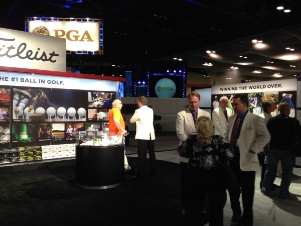 Titleist booth at 2014 PGA Merchandise Show