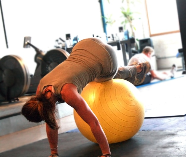 Stability-ball-core-exercise