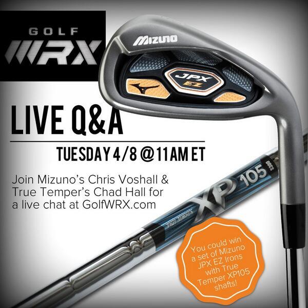 748d67159 Recap  Q A with Mizuno and True Temper – GolfWRX