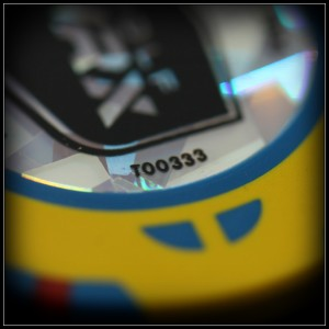 yellow and blue chip serial