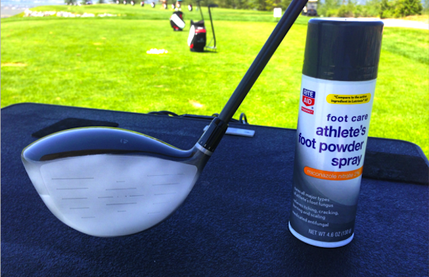 How a cure for athlete's foot can lead to longer drives – GolfWRX