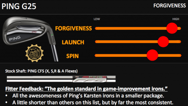 Ping G25 Forgiveness