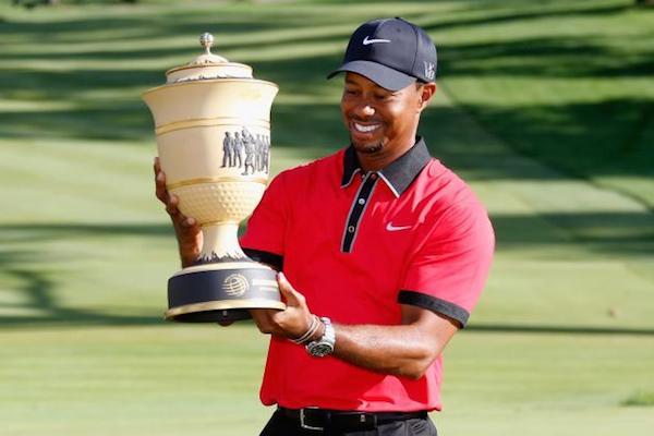 Tiger Woods 2013 Bridgestone win