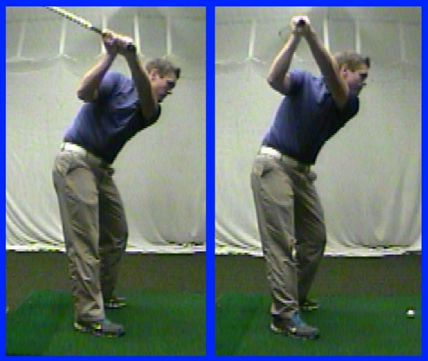 Tops of backswing