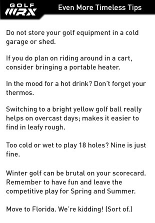 Even More Tips For Winter