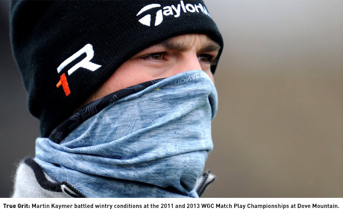 Martin Kaymer at the WGC-Match Play Championship