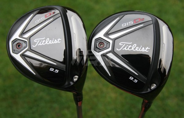 Titleist 915D2 915D3 drivers 915D 915