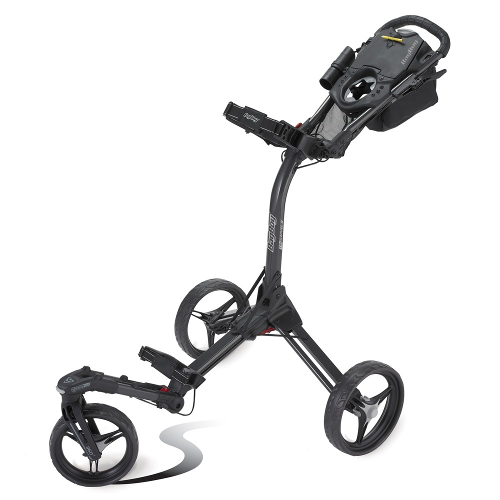 The TriSwivel II push cart from BagBoy ($269.95).