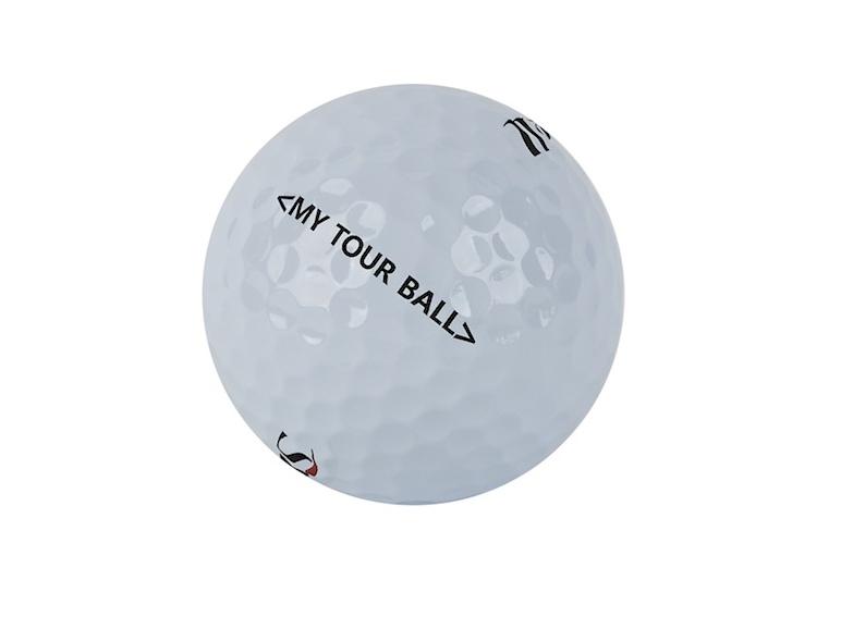 My Tour Ball - ball angled