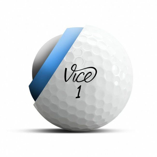 The three-piece Vice Tour golf ball.