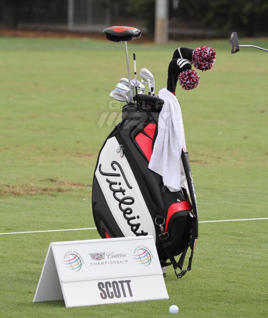 Adam Scott Testing Short Putters At Wgc Cadillac Golfwrx
