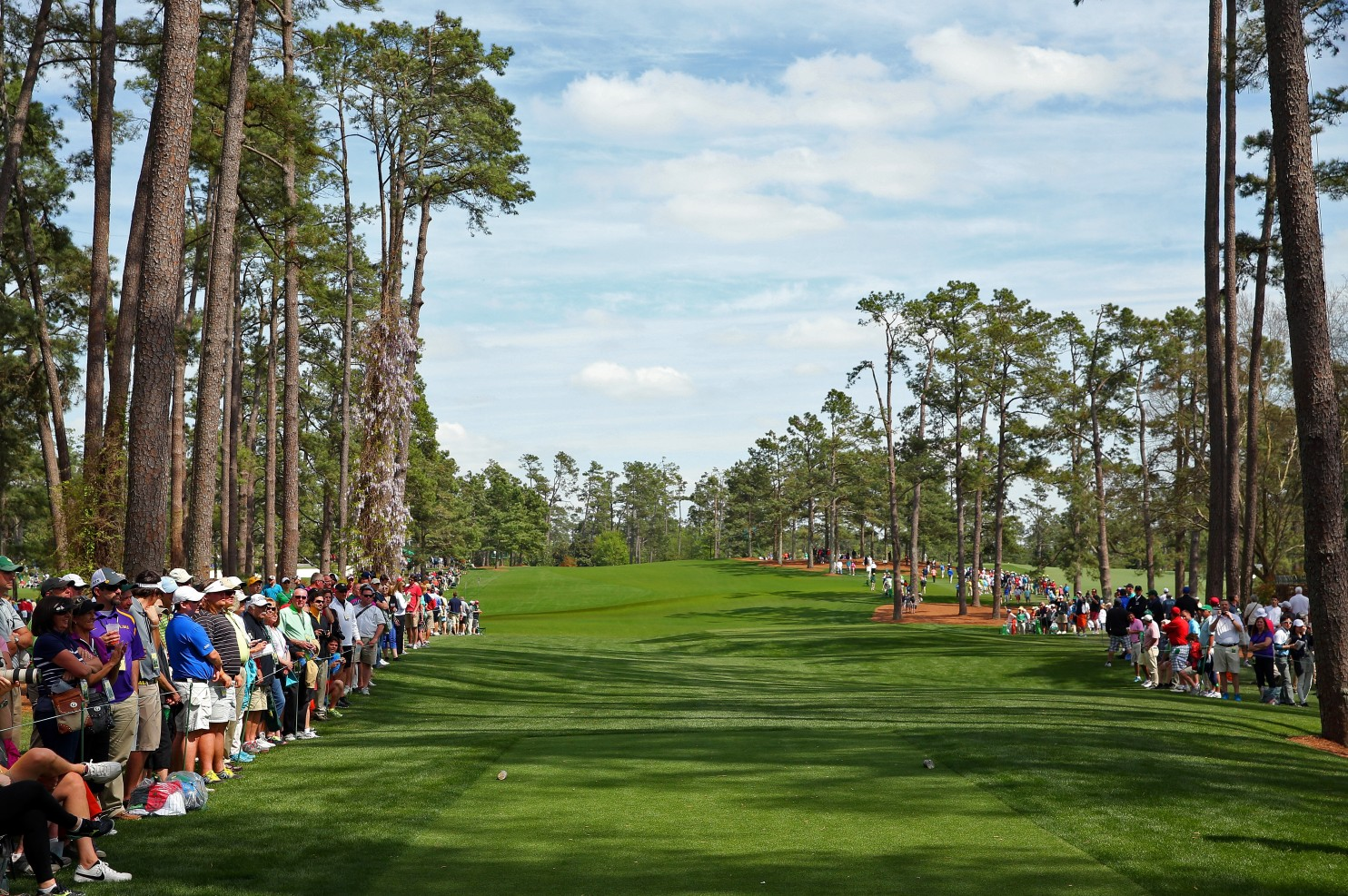 Here's how No. 17 looks from the tee without the Eisenhower tree (Andrew Redington/Getty Images)