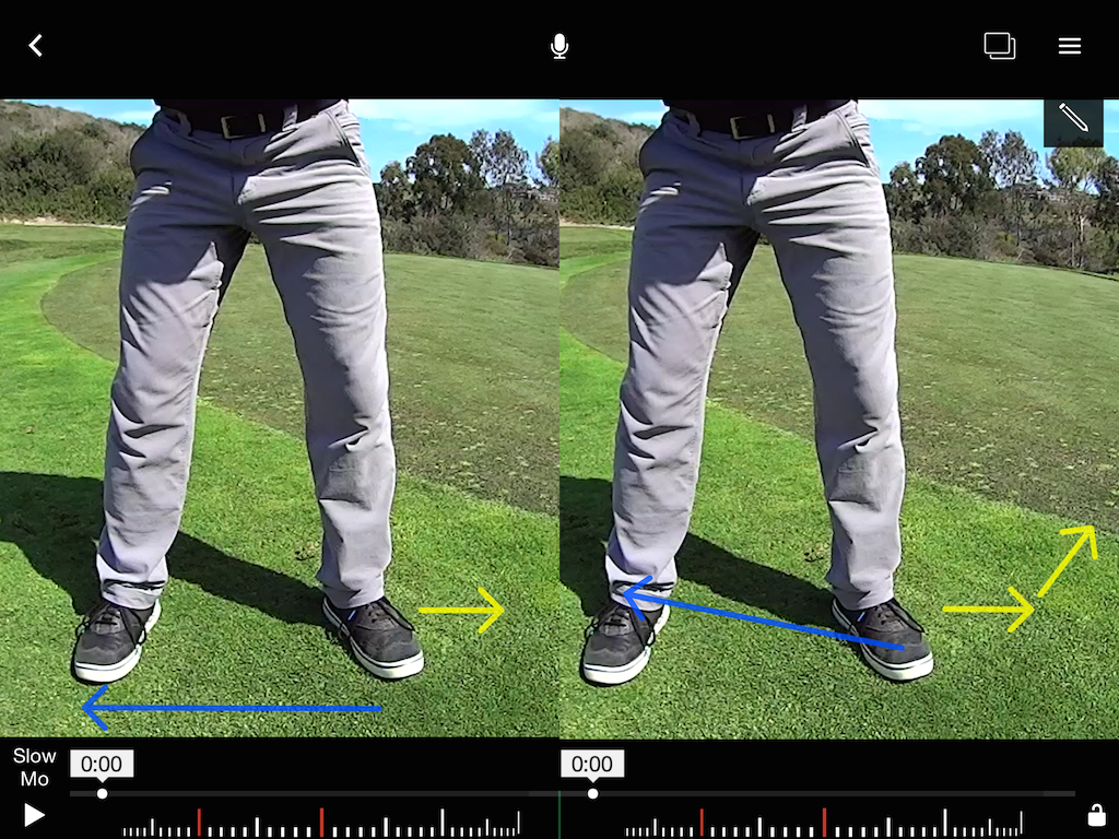 Apply pressure to the ground for a powerful draw – GolfWRX