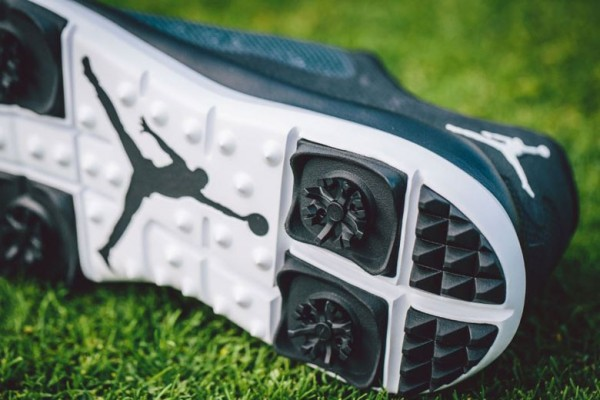 eb6d94c40f8 Jordan s Flight Runner Golf shoes have TRI-LOK soft spikes on the sole.