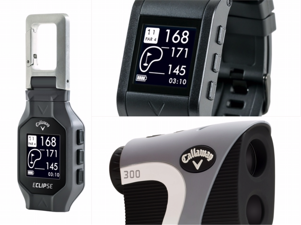 Review Callaways 300 Rangefinder Gpsync Watch And Eclipse Gps