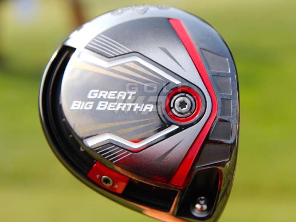 Spotted Callaways Great Big Bertha Alpha 816 Metal Woods Golfwrx