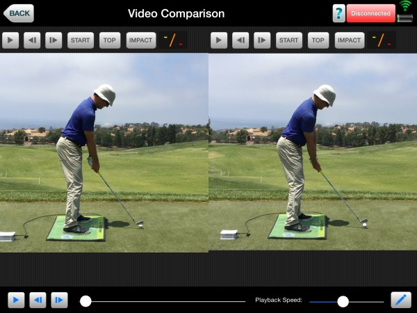 OFG is on the Right. CFG is on the Left.  The different grip changes the arm positioning at set up.