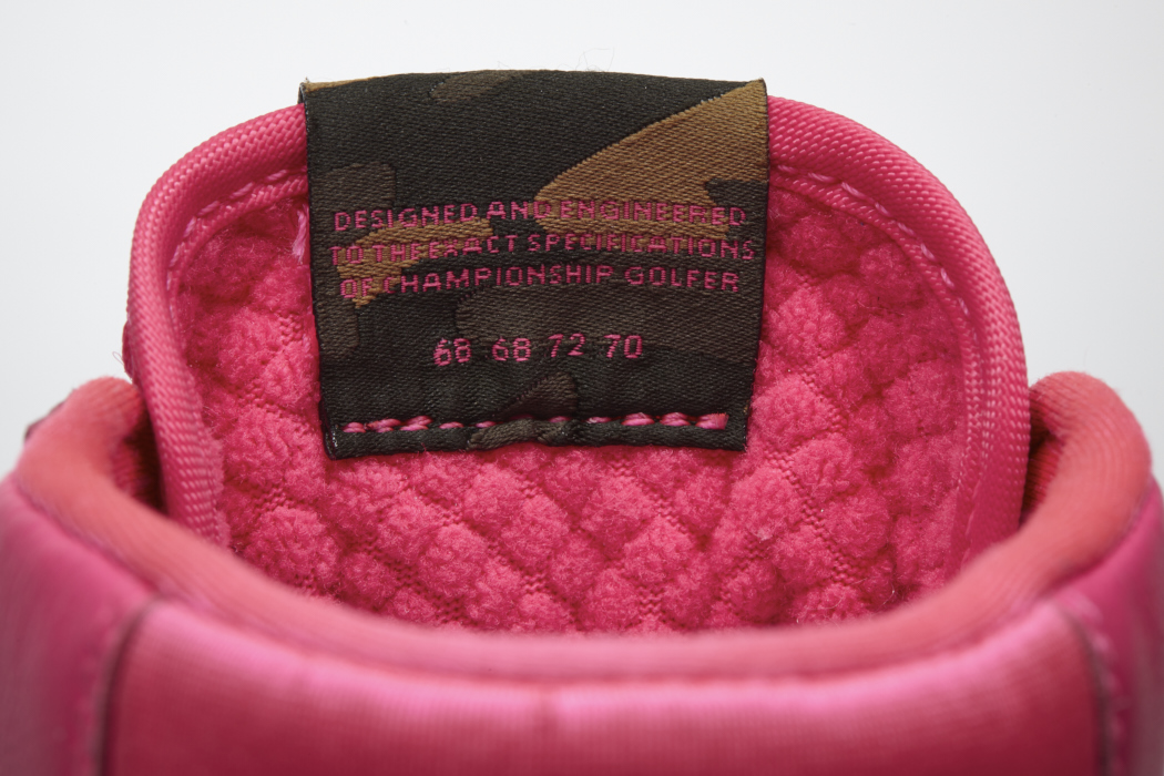 55621f844a2 Michelle Wie s pink Nike Blazer golf shoes and rainbow hair – GolfWRX