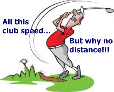 Beginner Golfer Cartoon