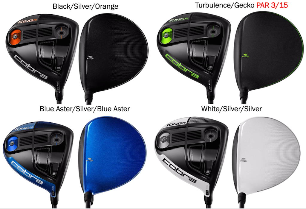 Cobra King F6 Drivers Fairway Woods And Hybrids Golfwrx
