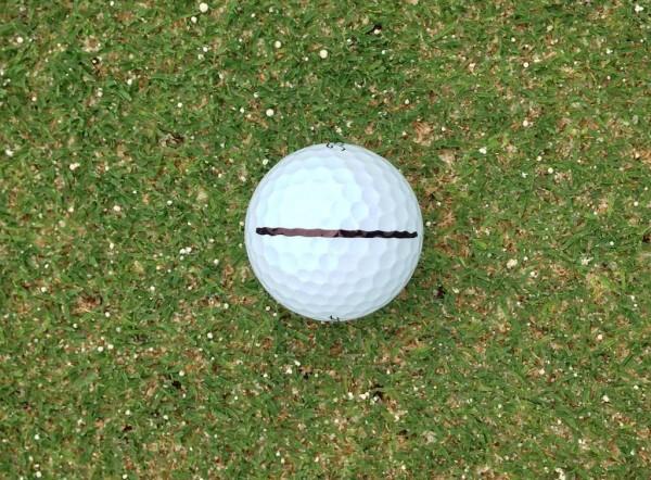 Line on ball