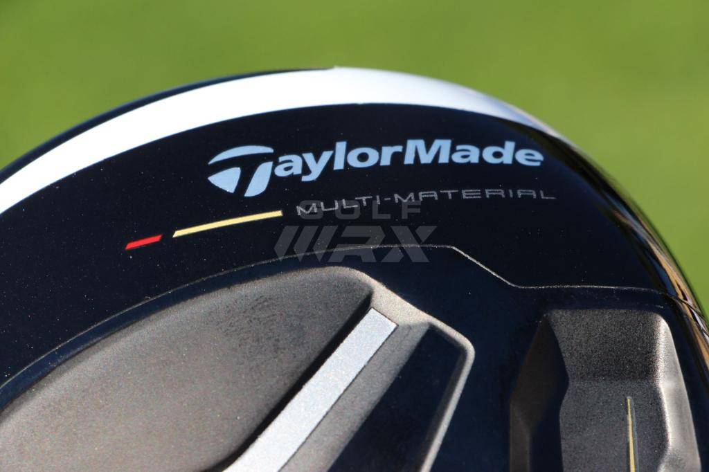 Like the M1 driver, the M2 uses a multi-material construction.