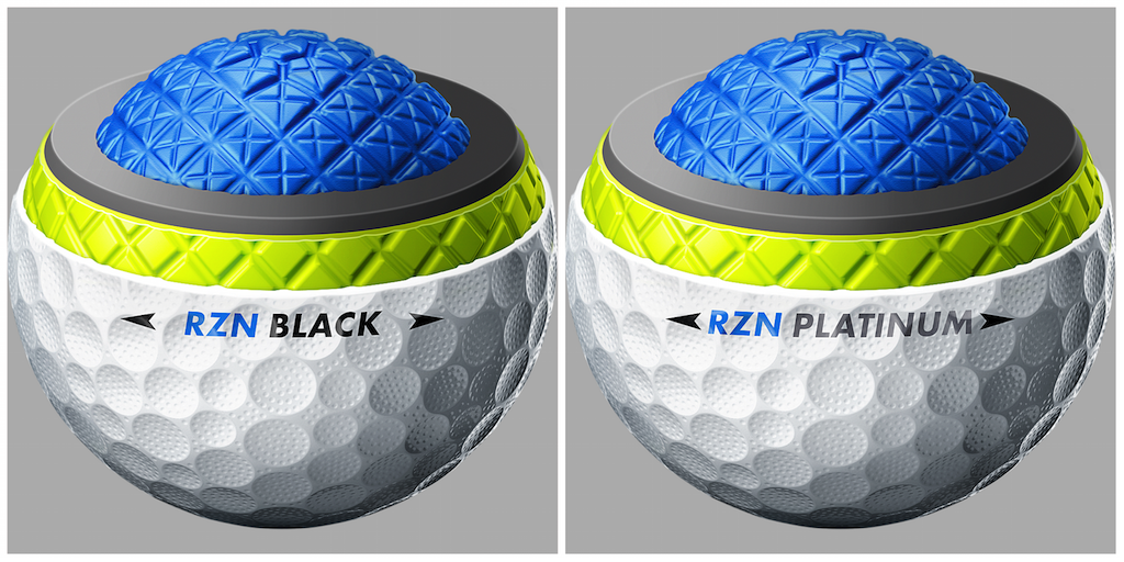 NikeBalls. Figure 1. One look at Nike s new RZN Tour golf balls ... 6bfe690e59