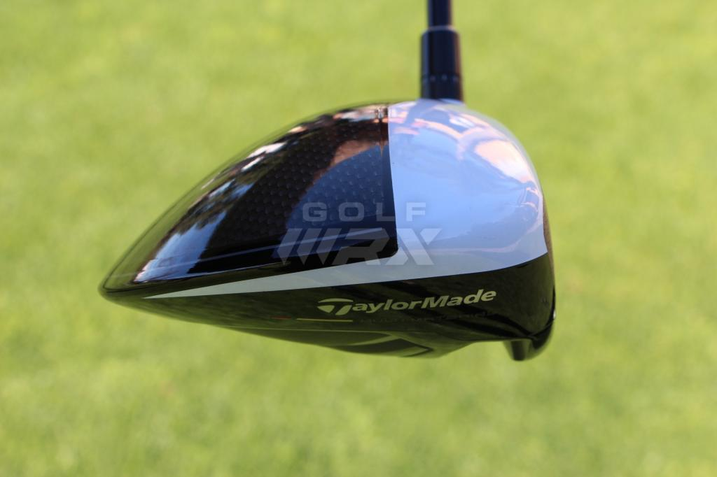 Because of its lack of moveable weights, the sole of the M2 driver is slightly more aerodynamic than the M1.