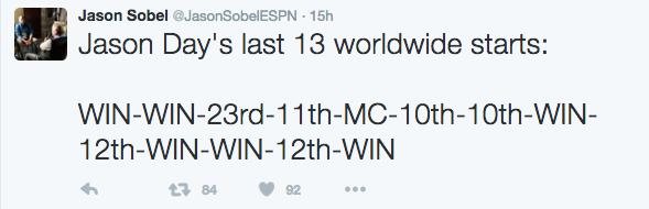 Jason Sobel Tweet