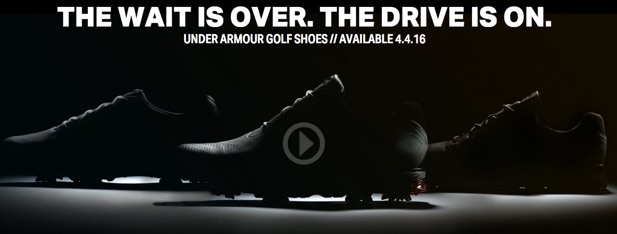 f9557405be6 Are Jordan Spieth s Under Armour shoes coming soon  – GolfWRX